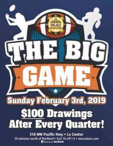 The Big Game - Super Sunday